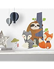 RoomMates Forest Friends Peel And Stick Giant Wall Decals