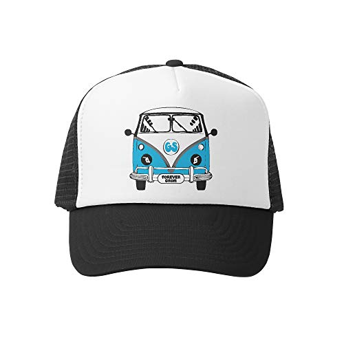 Grom Squad Kids Trucker Hat - Mesh Adjustable Baseball Cap for Boys & Girls - Baby, Infant, Toddler, School-Age Sizes (2-5yrs (Big), Busin Air
