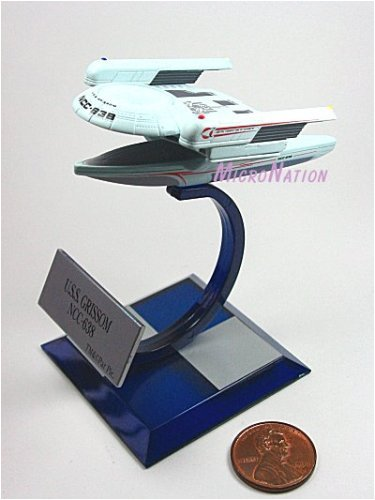 A3 U.S.S. Grissom NCC-638 Furuta Star Trek Federation Ships & Alien Ships Collection 3 Alpha Miniature Display Model