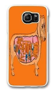 Samsung Galaxy S6 Case,Secrets of the Dachshund PC Hard Plastic Case for Samsung S6/Samsung Galaxy S6 Transparent