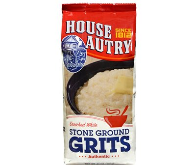 House Autry White Stone Ground Grits, Gluten-free 24 Oz