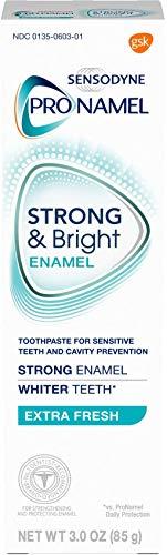 Sensodyne Pronamel Strong and Bright Enamel Toothpaste for Sensitive Teeth, to Reharden and Strengthen Enamel, Extra…