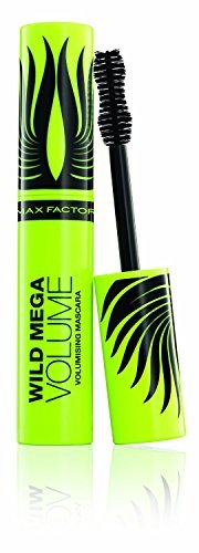 3 x Max Factor Wild Mega Volume Volumising Black Mascara 11ml by Max Factor