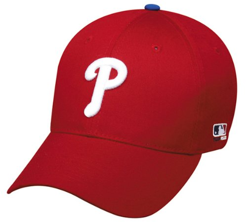 Philadelphia Phillies (Home - Red) YOUTH (Ages Under 12) Adjustable Hat MLB Officially Licensed Major League Baseball Replica Ball Cap