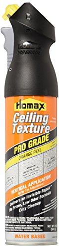 Homax Series 4692 20 oz. Pro Grade Orange Peel Water Based Ceiling - Orange Homax Peel