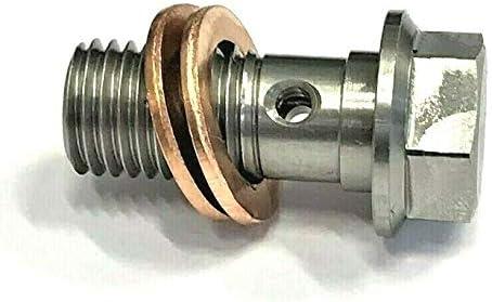Precisiongeek Edelstahl R/ändelschrauben M5x10mm 1 Satz 5 St/ück