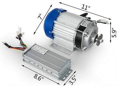 Motore elettrico per scooter senza spazzole 750 W motore di riduzione fai da te 48 V