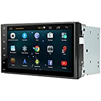 Henhaoro 7 Android Car Stereo Gps Navigation Lollipop 5.1 Touch Screen Radio receiver No DVD 2 DIN Resolution 1024x600 Head unit