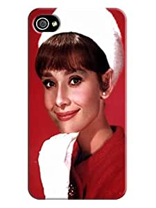 Lovely Audrey Hepburn fashionable TPU Phone Case with New pictures to Make Your iphone 4/4s Outstanding