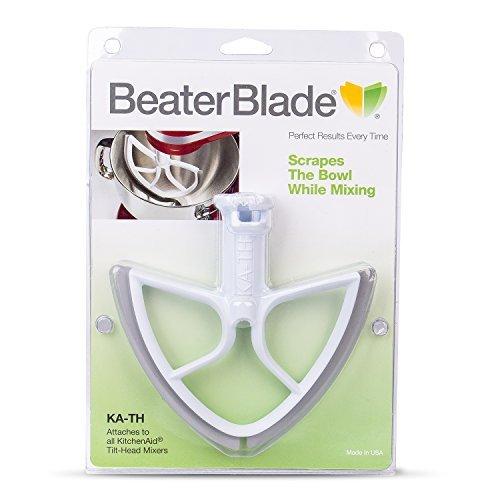 Tilt-Head Mixer Mixing Accessories by New Metro Design,for KitchenAid (White Grey)