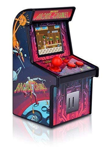 - MINI ARCADE GAMES Retro Tiny Video Game Arcade Cabinet for Kids Portable Electronic Handheld Gaming Console with 200 Classic Games Cheap and Easy for Eyes