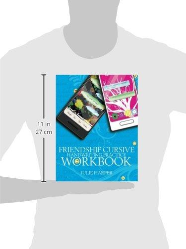Friendship Cursive Handwriting Practice Workbook: Julie Harper ...