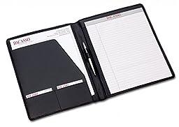 Dacasso Leather Standard Portfolio, Black (E1001)