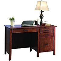 Coaster Home Furnishings 801199 Office Desk, Red Brown