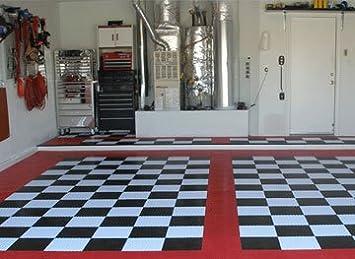 Generous 12 Inch Floor Tiles Thick 13X13 Floor Tile Square 17 X 17 Floor Tile 24 X 24 Ceramic Tile Old 24X24 Ceramic Tile Coloured24X24 Floor Tile Garage Floor Tiles In Checker Pattern 40 Sq.ft. Complete Kit ..