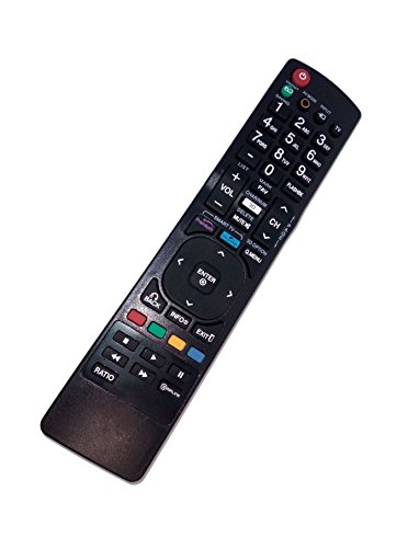 Replaced Remote Control Compatible for LG 55LM7600-UA AKB72915235 47LW5300UC 50PV450 47LM4600-UC LCD LED HD TV