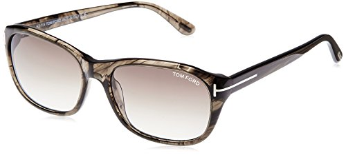 Tom Ford London Sunglasses, Brown Marble, 58mm x 17mm x 140mm