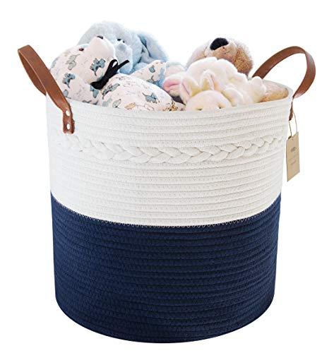Large Cotton Rope Storage Basket 15