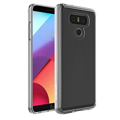 Funda LG G6, Cubevit® LG G6 Case Cover [Cristalino transparente PC TPU de parachoques] Ultra Delgado/ Anti-Arañazos /Protección de Caída Carcasa Case para LG G6