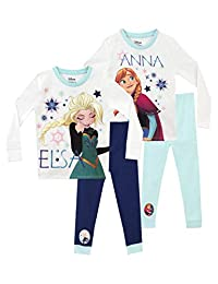 Disney Girls' Frozen Pajamas 2 Pack
