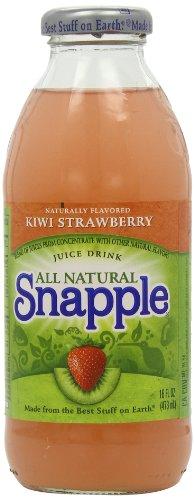 Snapple Kiwi Strawberry Bottles 16 fl oz/473 ml (Pack of 6)