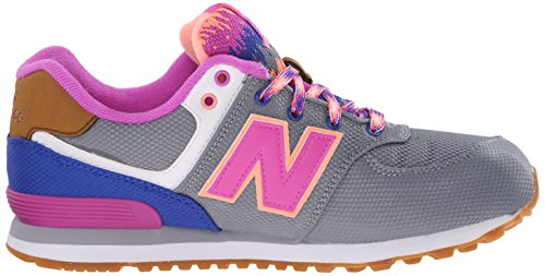 New Balance Kl574, Chaussures Mixte Enfant Grigio-Vio