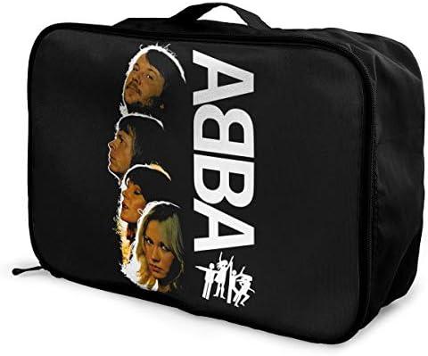 トラベルポーチ アレンジケース Abba アバ 旅行収納バッグ 衣類収納バッグ 収納専用ポーチ 手提げ 短期出張 多機能 ファスナー 収納便利グッズ 軽量 大容量 便利 ビジネス 海外旅行 整理用