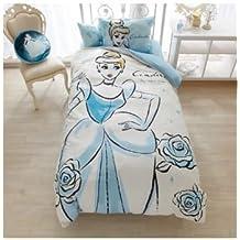 Disney Cinderella duvet covers, sheets, pillow case three-piece set single
