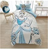 Disney Cinderella duvet covers, sheets, pillow case three-piece set single