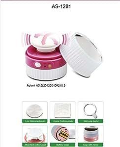 Touch Beauty Limpiador Facial (con batería) con 3d Contorno Cabeza Produciendo 22000 Mini vibraciones para lograr una piel súper-limpia
