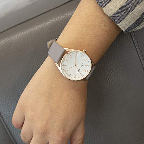 24% discount on Nine West rose gold watch