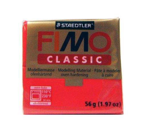 Fimo Classic Red 2oz ()