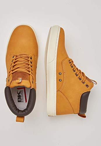 haute Knights marron Hommes Foncé British Mi Wood Chaussure Miel qXpBv6w