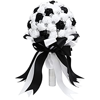 Bouquet Black And White