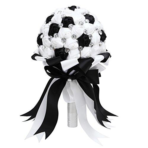 Black and white wedding decorations amazon junglespirit Choice Image