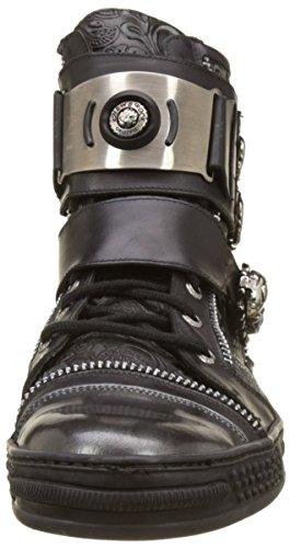 New Rock M-ps028-s1, Stivali da Motociclista Uomo nero