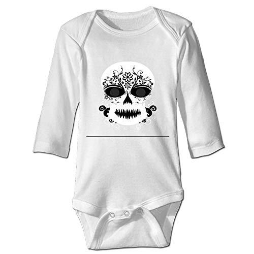 doormatscool Funny Shirt Make-Up-Skull Gift Idea Romper Bodysuits -