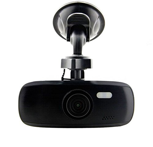 "Black Box G1W-CB ""Black Bezel"" Capacitor Model Dash Camera – Heat Resistant – Full HD 1080P H.264 2.7″ LCD Car DVR Video Recorder – WDR 140° Wide Angle 4x Zoom Motion Detection Night Vision G-Sensor"