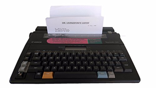 Canon Typestar Electric Typewriter Word Processor