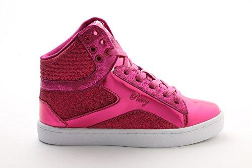 Pastry-Youth-Pop-Tart-Glitter-Dance-Sneaker-Fuchsia-Size-11