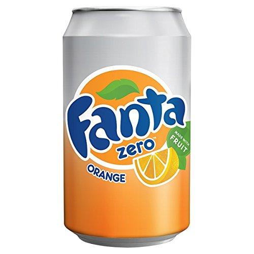 ( 24 Pack ) Fanta Orange Zero 330ml