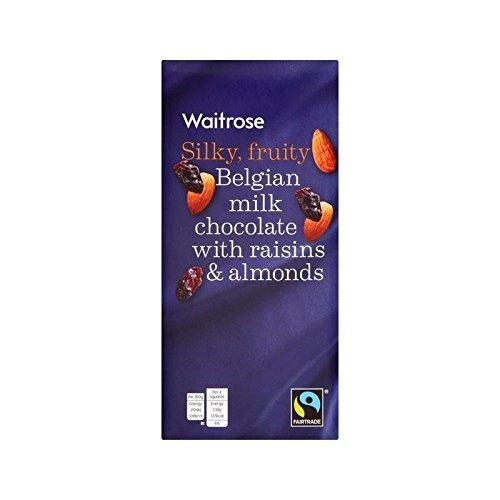 Frutas Y Frutos Waitrose 200 G De Chocolate Con Leche: Amazon.es: Alimentación y bebidas