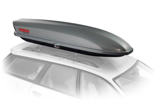 Yakima SkyBox Pro 18 Rooftop Cargo Box (18 Cubic Feet, Titanium)