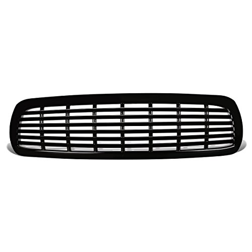 2004 Dodge Dakota Grille - DNA MOTORING GRF-028-BK Front Bumper Grille Guard, Black