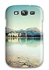 Galaxy Cover Case - Earth Lake Protective Case Compatibel With Galaxy S3