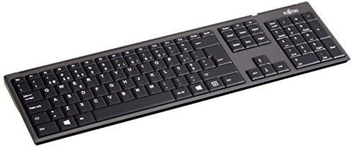 FUJITSU LX390 - Set de teclado y ratón inalámbricos - QWERTY