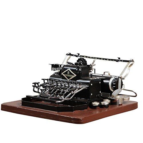 GFEI Maquina de Escribir Vintage Modelo/Tienda de café para Hacer la Antigua Decoracion Decoracion Decoracion/Estudio de visualizacion de la Ventana Props: ...