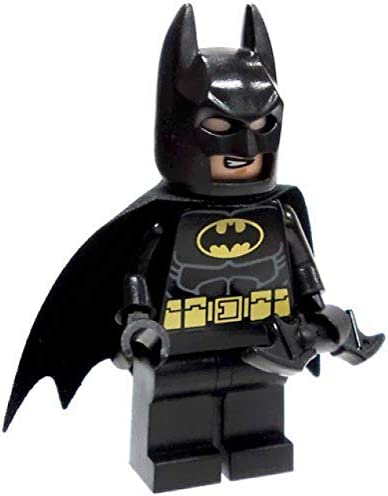 LEGO Super Heroes DC Universe Black Batman Minifigure with Batarang Traditional Head