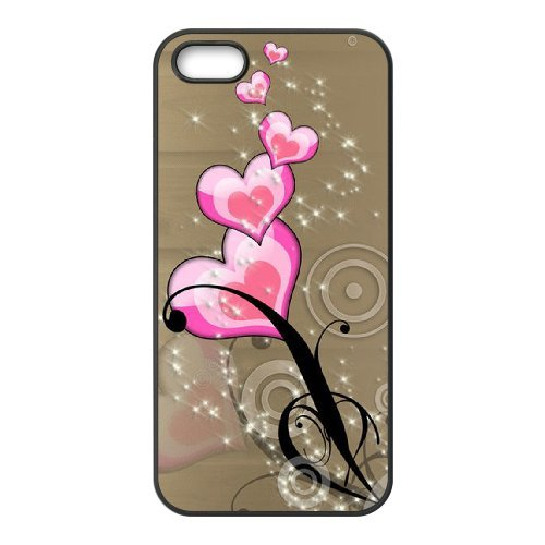 SYYCH Phone case Of Heart-shaped Picture 2 Cover Case For iPhone 5,5S