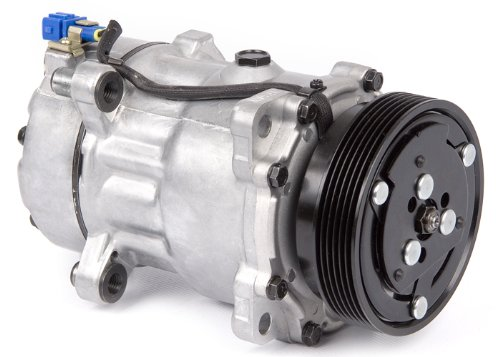 New Premium Quality AC Compressor & A/C Clutch For VW Golf Jetta Passat Cabrio - BuyAutoParts 60-01298NA New (Vw Passat Ac Compressor compare prices)